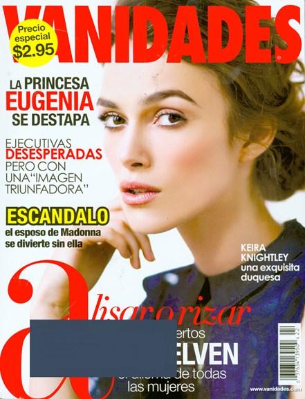 Vanidades Cover - 10/21/2008