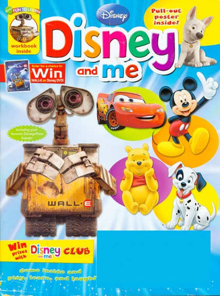 Disney Junior Cover - 11/1/2008