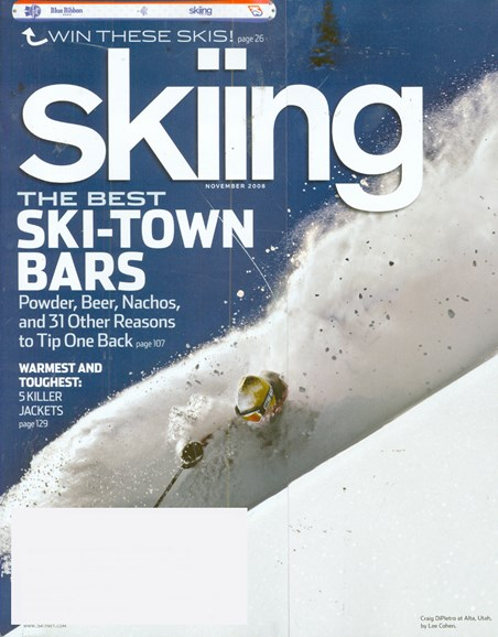 Skiing Cover - 11/1/2008