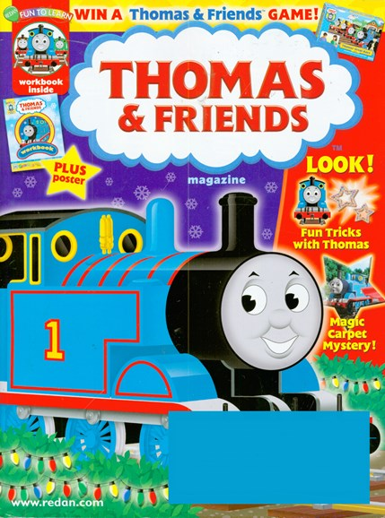 Thomas & Friends Cover - 11/1/2008