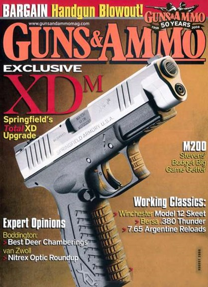 Guns & Ammo Cover - 8/1/2008