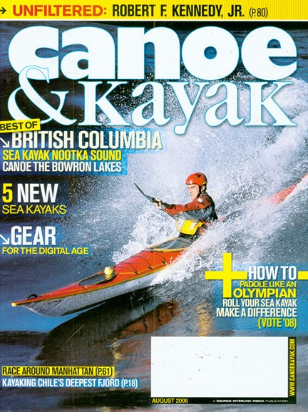 Canoe & Kayak Cover - 8/1/2008