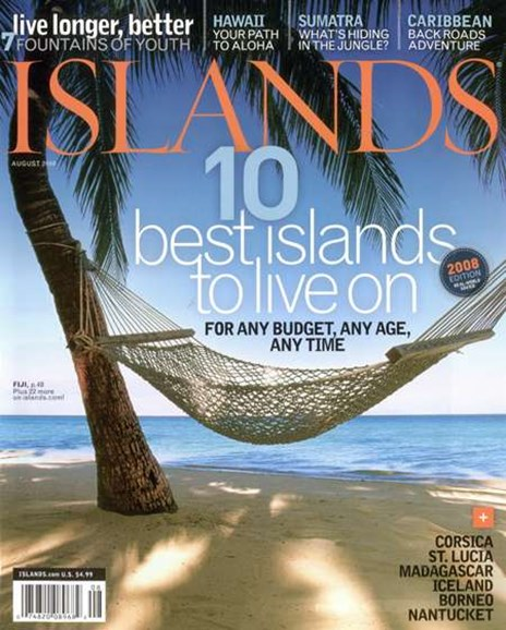 Islands Cover - 8/1/2008