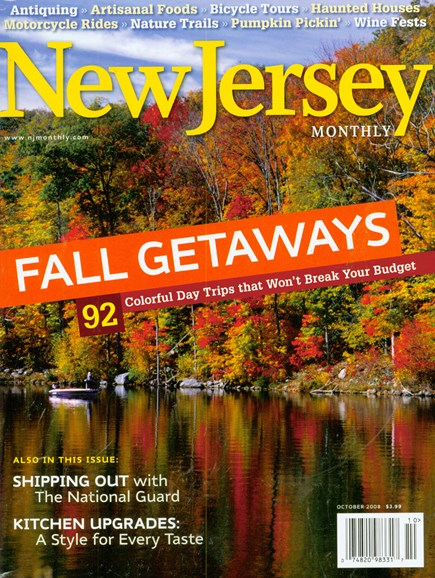 New Jersey Monthly Cover - 10/1/2008