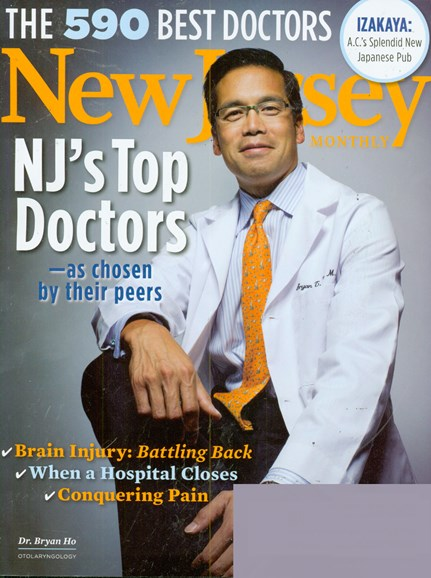 New Jersey Monthly Cover - 11/1/2008