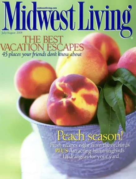 Midwest Living Cover - 7/1/2008