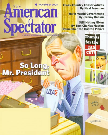 The American Spectator Cover - 11/1/2008