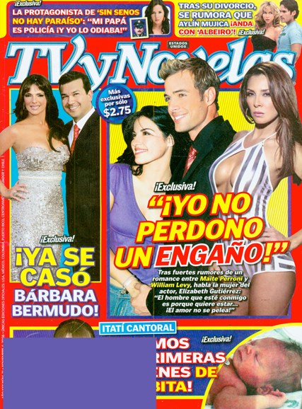 Tv Y Novelas Cover - 10/1/2008