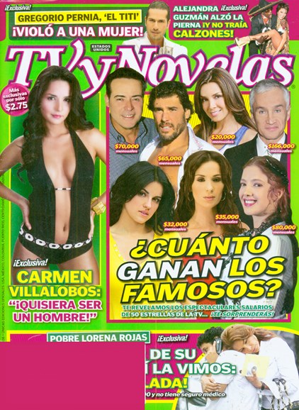 Tv Y Novelas Cover - 11/1/2008