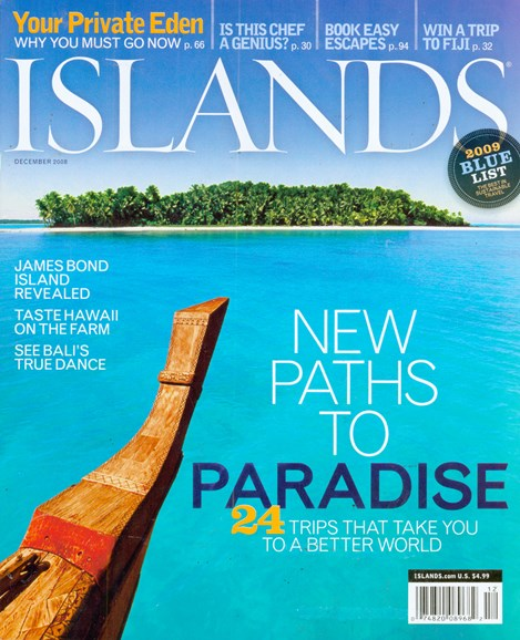 Islands Cover - 12/1/2008
