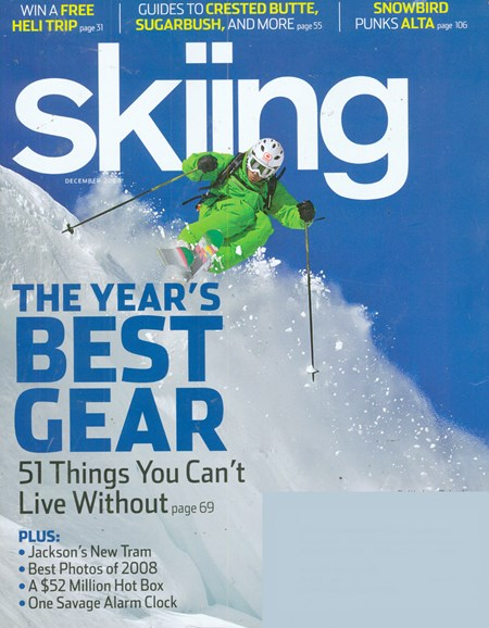 Skiing Cover - 12/1/2008