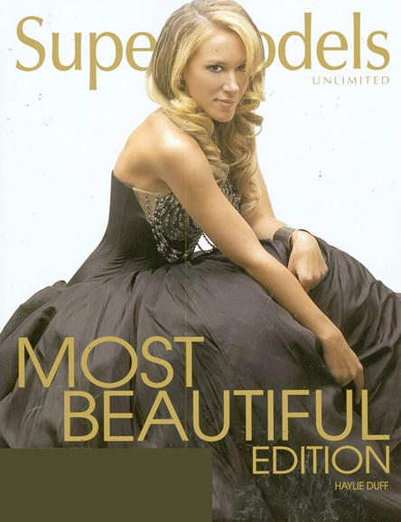 Supermodels Unlimited Cover - 11/1/2008