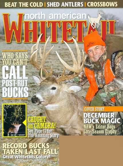 North American Whitetail Cover - 12/1/2008
