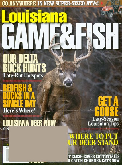 Louisiana Game & Fish Cover - 12/1/2008