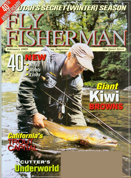 Fly Fisherman Cover - 2/1/2009