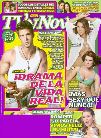 Tv Y Novelas Cover - 12/2/2008