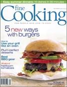 Fine Cooking Magazine 9/1/2008
