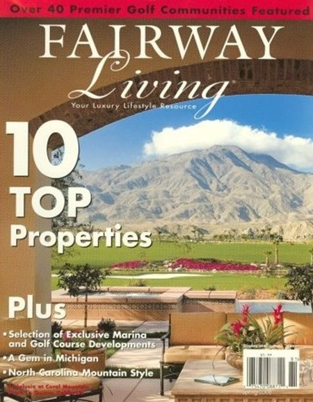 Fairway Living Cover - 12/2/2008