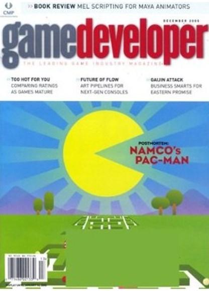 Game Developer Cover - 12/2/2008
