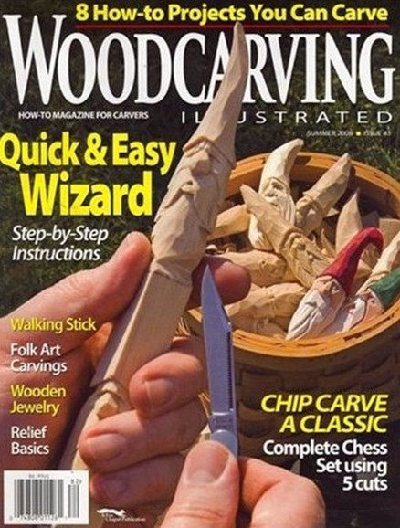 Wood Carving Illustrated Cover - 12/2/2008