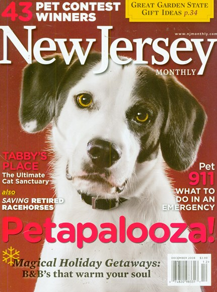 New Jersey Monthly Cover - 12/1/2008