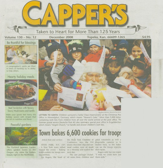 Capper's Cover - 12/1/2008