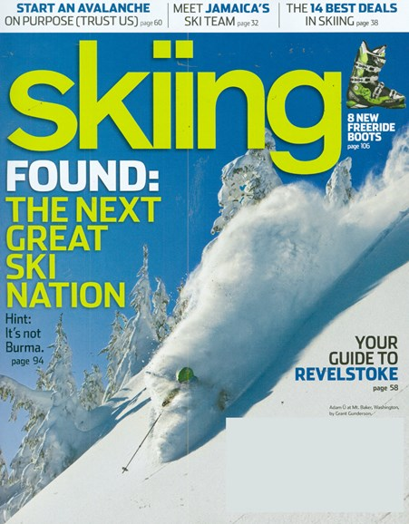 Skiing Cover - 1/1/2009