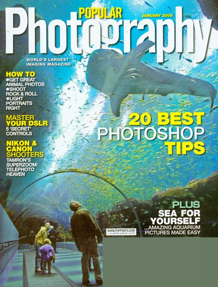 Popular Photography Cover - 1/1/2009
