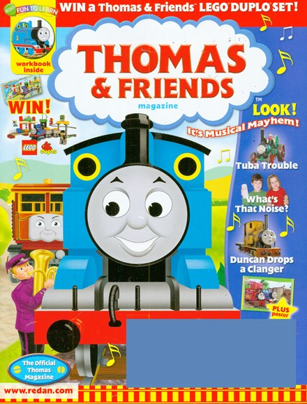 Thomas & Friends Cover - 1/1/2009
