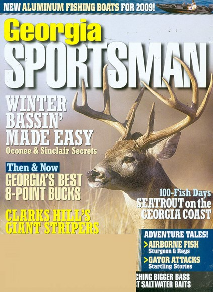 Georgia Sportsman Cover - 1/1/2009
