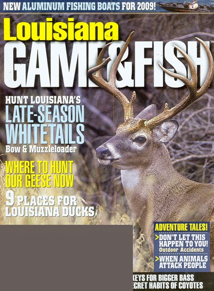 Louisiana Game & Fish Cover - 1/1/2009