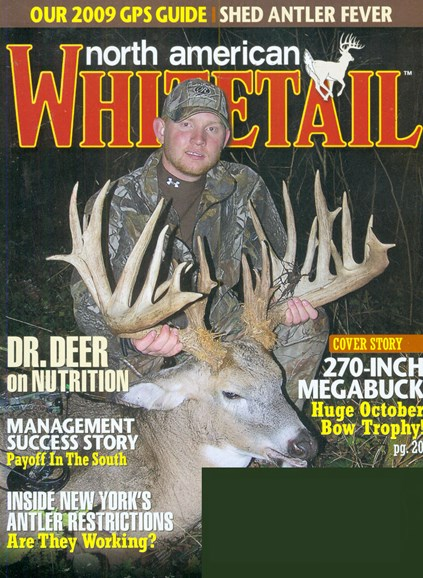 North American Whitetail Cover - 1/1/2009