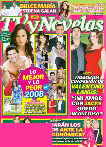 Tv Y Novelas Cover - 12/16/2008