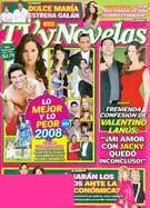Tv Y Novelas Magazine 12/16/2008