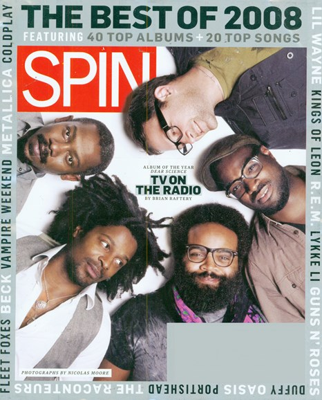 Spin Cover - 1/1/2009