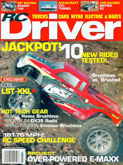 RC Driver Cover - 3/1/2009