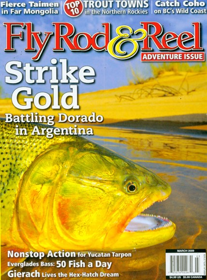 Fly Rod & Reel Magazine Cover - 3/1/2009