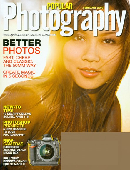 Popular Photography Cover - 2/1/2009