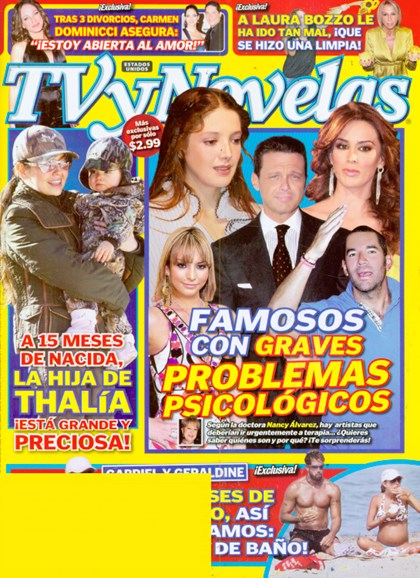 Tv Y Novelas Cover - 1/1/2009