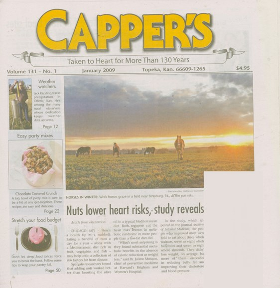 Capper's Cover - 1/1/2009