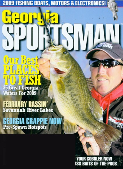 Georgia Sportsman Cover - 2/1/2009