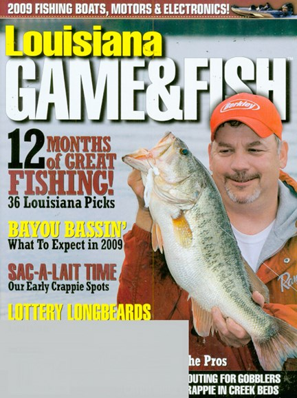 Louisiana Game & Fish Cover - 2/1/2009