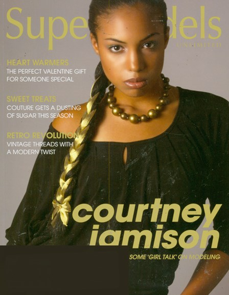 Supermodels Unlimited Cover - 1/1/2009