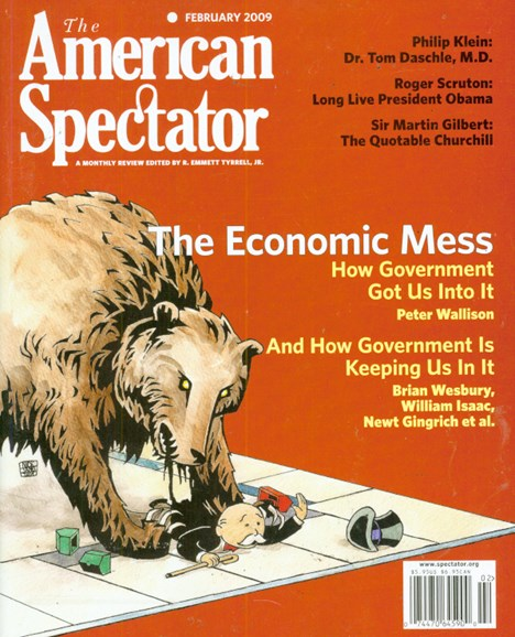The American Spectator Cover - 2/1/2009