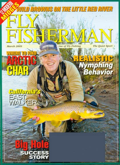 Fly Fisherman Cover - 3/1/2009