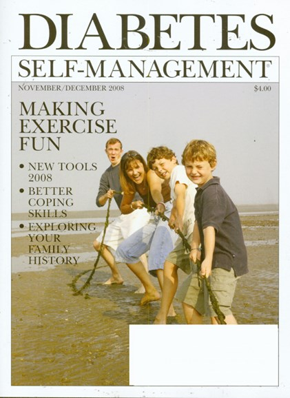 Diabetes Self-Management Cover - 11/1/2008