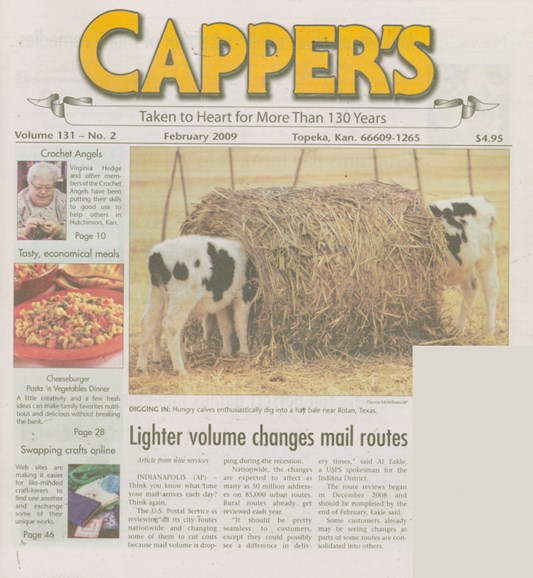 Capper's Cover - 2/1/2009