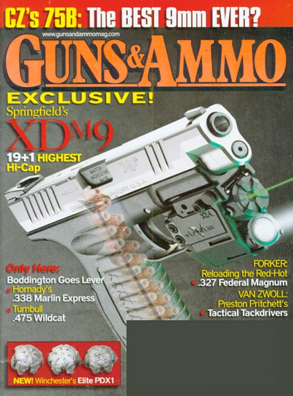 Guns & Ammo Cover - 2/1/2009