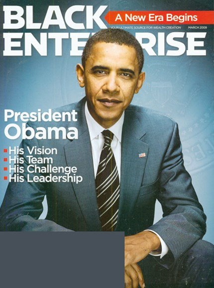 Black Enterprise Cover - 3/1/2009