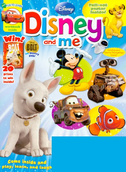 Disney Junior Cover - 3/1/2009